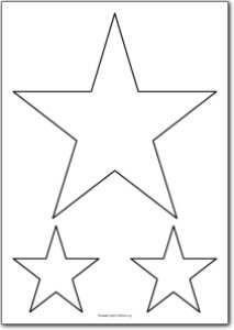 star shapes item id 21
