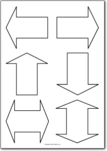 Basic arrow shapes