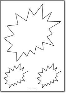 Explosion shape